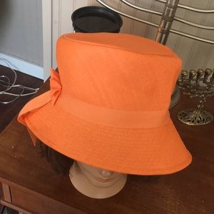 Vintage Brentshire Side Brim Women's Orange